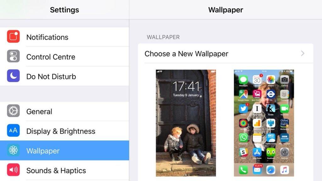 Как установить обои на экран блокировки смартфона