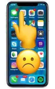 Не работает экран на iPhone X: почему возникает эта проблема и решение